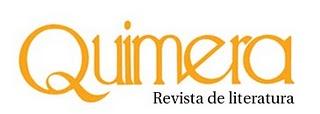 Entrevista para Quimera (nº abril 2010)